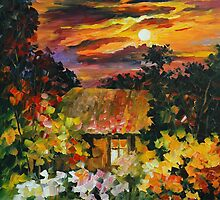 UNDER THE MOON LIGHT - LEONID AFREMOV by Leonid  Afremov