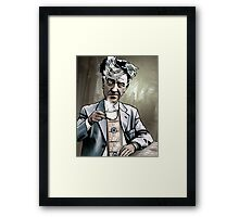 "David Lynch ""Strange Brew"" Framed Print"