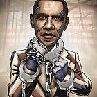 """Barack Obama, """"Stimulate This!"""" by Sam Kirk"""