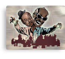 "Ray Charles & Count Basie, ""Reanimated Swagger"" Canvas Print"
