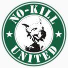 No-Kill United - ES NO-KILL STARB (STICKER) by Anthony Trott