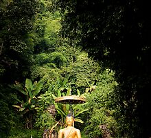 The Outdoor Thai Statue by Marnie Hibbert