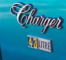 Hey Blue Charger! by Norman Repacholi