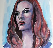 Cassidy Freeman, featured in The Group, Painters universe by FDugourdCaput