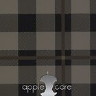Apple Core - tartan by Benjamin Whealing
