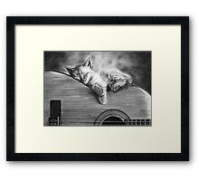 Unplugged Framed Print