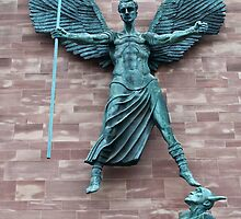 St Michael and the Devil by Jenny1611