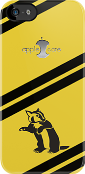 Apple Core - Hufflepuff by Benjamin Whealing