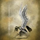 Crouching Angel by Redustheriotact