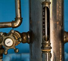 Faucet of a 19th century shower by Sami Sarkis