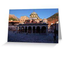 Rila monastery, Bulgaria Greeting Card