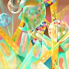 "ORIGINAL OIL ON CANVAS ""Light Movements"" 35.5""x26"" $ 597.00 by simonadancila"