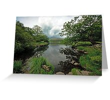 View of Rydal Water Greeting Card