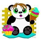 Cute Panda Who Loves Sweets by TheBluePlanet