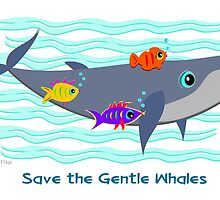 Save the Gentle Whales by TheBluePlanet