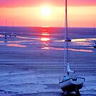 Meols Beach at Sunset by Duncan Rowe