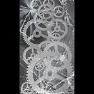 Broken glass & Cogs by icoradesign