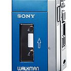 Old Sony walkman is back by Jari Vipele