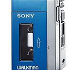 Old Sony walkman is back by Jari Vipele