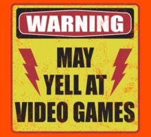 Gamer Warning Kids Clothes