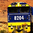Leigh Creek Coal Train by Dean Gale