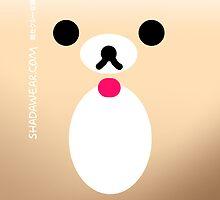 Cutie bear iphone case by kaysha