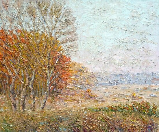 Autumn / 2011 / oil on canvas by Ivan KRUTOYAROV