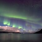 Aurora Borealis &amp; clouds I by Frank Olsen