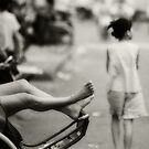 resting cyclo feet by wellman