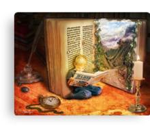 The Book of Magic Canvas Print