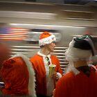 Santa Train Spotting by Mark Roon-Reitmeier