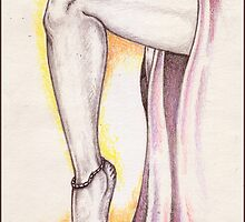 Her Leg ( 'Doll Parts' III ) by Sean Phelan