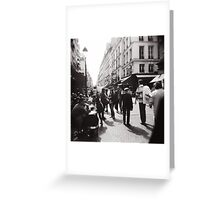 Promenons-nous Greeting Card
