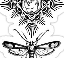 Moth Equals Sticker