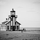 Point Cabrillo, CA Lighthouse by LadyEloise