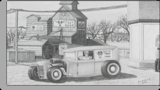Feed Store Rat Rod by Michael McKellip