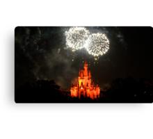 Fireworks Fantasy Canvas Print
