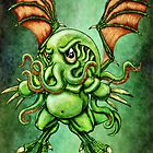 Baby Cthulhu by ChaostheRed
