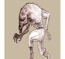 Wolfman iPhone case 1 by tapiona