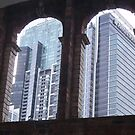 Arched Skyscrapers by Judy Woodman