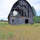 Washington Barn by JasPeRPhoto