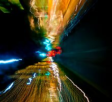 Neon Drive (iPhone Case) by Paul Louis Villani