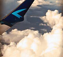 Wings. Clouds. by tutulele