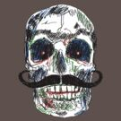 Skull moustaches by dadawan