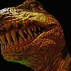 TREX Portrait by Jerry L. Barrett