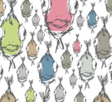 I love Fish Sticker