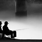 Smoking and Fishing 2 by Greg Booher