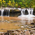 Indiana's Upper Cataract Falls by Kenneth Keifer