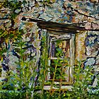 """Ruined Cottage Window in the Braid Valley, County Antrim"" by Laura Butler"