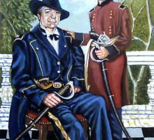 THE GENERAL AND THE  BOY SOLDIER by james thomas richardson